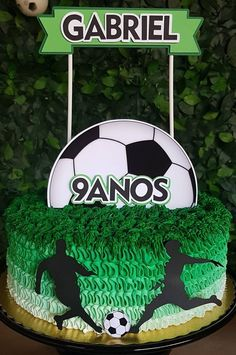 Soccer Birthday Parties, Football Birthday, Soccer Party, Birthday Party Themes, Soccer Birthday Cakes, Soccer Cake, Boy Birthday, Soccer Baby Showers, Barcelona Party