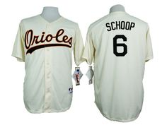 orioles 6 jonathan schoop cream 1954 turn back the clock throwback jersey