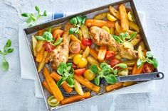 Recepten - Allerhande - Albert Heijn Healthy Diners, Oven Dishes, Pasta, Kung Pao Chicken, Easy Peasy, Food For Thought, Nom Nom, Meat
