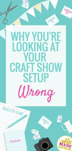 This is one of the most common mistakes vendors make at craft fairs and it's such an easy fix. Click to find out what it is and what you should do instead.
