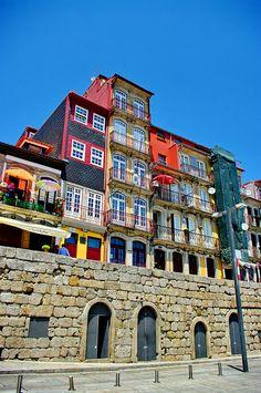 Historic Centre of Oporto UNESCO World Heritage | Façades - Ribeira, Porto, Portugal