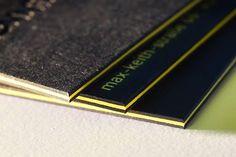 Verarbeitung: Letterpress und Triplex-Kaschierung Material: Colorplan (350 g/qm) von Römerturm Feinstpapier Kunde: henningphoto #letterjazz #letterpress #businesscards