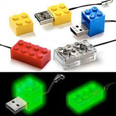 LEGO block USB memory