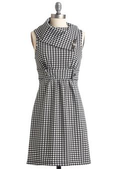 I could make this?? (love love)    http://www.modcloth.com/shop/dresses/streetcar-tour-dress-in-houndstooth