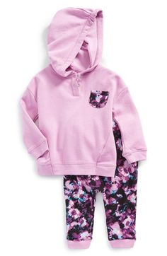 Splendid+Envelope+Back+Hoodie+&+Leggings+(Baby+Girls)+available+at+#Nordstrom