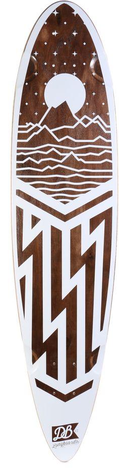 """DB Longboards Cascade 38"""" Longboard Deck - Skate Shop > Decks > Longboard Decks"""