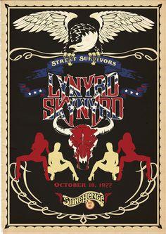 lynyrd skynyrd | Lynyrd Skynyrd - poster by ~Tadeu-Amaral on deviantART