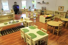 Old Peachtree Montessori School tour.