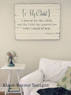 amazing wood panels with text. Classy without images. I would replace the bible verses lines of poetry maybe.