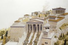 Acropolis in Ancient Times, Athens Ancient Greek City, In Ancient Times, Ancient Greece, Parthenon Greece, Acropolis, Greece House, Best Dramas, Ancient Architecture, Best Cities