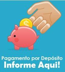 informe seu pagamento e agilize a liberação do seu pedido