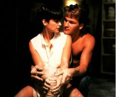 """GHOST...""""oh my love, my darlin', i hunger for your kiss..."""" can't you just hear bill medley singing this??"""