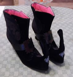 be55f92500e8 ellie -Witch Adult Black Boots size 7  fashion  clothing  shoes   accessories  costumesreenactmenttheater  costumes (ebay link)