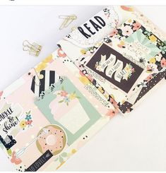 More of this beautiful #snailmail project that the lovely @paper_sweetpea has created for us using the @simplestories_ Posh Collection. If you haven't checked out the video tutorial yet, it's a must ...#simplestories #posh #mail #penpal #sassystore #scrapbooking