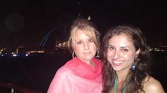 My last night in Dubai with a great gal pal!