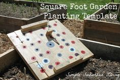 In this video I show how to make a easy and extremely useful template that can be used year after year to plant your gardens.   Last year...