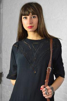 Just Female Ava Black Dress