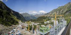 Die derzeit größte und höchstgelegene Baustelle in Vorarlberg