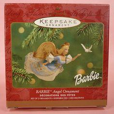 Hallmark Keepsake Ornament; Barbie Angel. 2001.