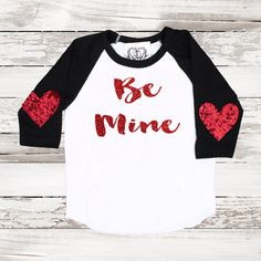 Valentines Day Sparkle Tee Baseball T Shirt by ICaughtTheSun