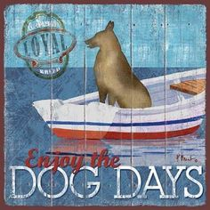 Dog Days II Art Print