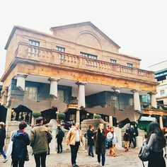 Alex Chinneck in Covent Garden, London