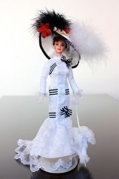 """Barbie as Eliza - From the Movie """"My Fair Lady"""""""
