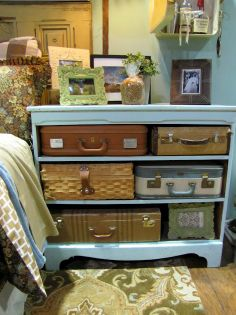 great way for storing stuff you dont want seen AND looks fab!