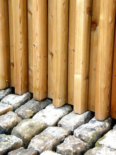 Mitchell Taylor Workshop - beautifully detailed junction between external timber cladding and cobbled stone courtyard
