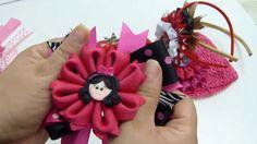 Flores y lazos de liston faciles , video 551,Make Simple Easy Bow