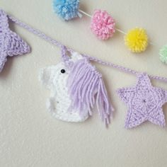 Inspired by my daughters obsession with Kawaii, ive begun working on fun new garlands to add to the shop!