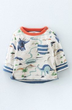 Mini Boden Reversible Long Sleeve T-Shirt (Baby Boys & Toddler Boys)