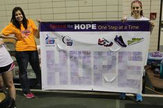 HOPE banner with reasons to Relay inside -NDSU