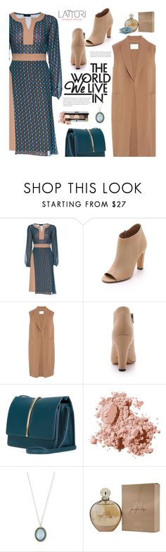 """Lattori Designer Dresses"" by beebeely-look ❤ liked on Polyvore featuring Lattori, Vince, Alexander Wang, Nina Ricci, Bobbi Brown Cosmetics, Armenta, Jennifer Lopez, StreetStyle, Spring and dress"