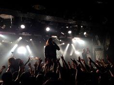 Metal-Band DevilDriver auf Japan Tour 2014 in Nagoya
