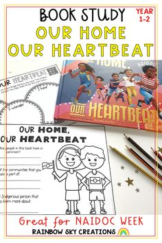 This resource has been created to support the book, 'Our Home, Our Heartbeat' by Australian Rapper Adam Briggs (known as Senator Briggs). Included is a set of print and go activities, aimed at Years 1 and 2, that can be used as a series of lessons or as individual tasks. Most importantly, it has been created to shine a light on and celebrate Indigenous Australians. Learning Activities, Teaching Resources, Teaching Ideas, Primary Classroom, Primary School, Adam Briggs, Naidoc Week, Rainbow Sky, Australian Curriculum