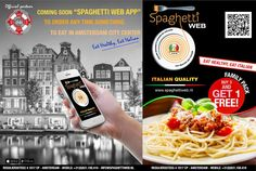 SPAGHETTIWEB - Italian #Restaurant & #Food_shopping - Regulierssteeg n°4 –1017 CP #Amsterdam Centrum - Service of #Take_Away call at +31(0)618.700.985 or www.spaghettiweb.nl