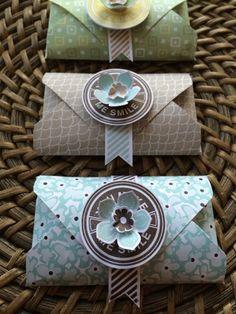 "07/02/2014 ENVELOPE GOODIES  by  Franka Thorenz     SAB designer paper ""Sweet Sorbes"",  ""Petite Petals www.ScrapGöre.de little boxes, goodi, envelope board punch, paper, envelop punch"
