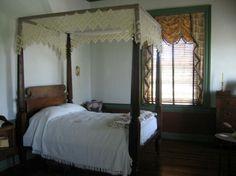 Chief Vann House Historic Site - Master Bedroom