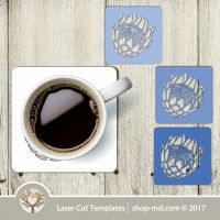 Laser cut wall clock / coaster templates, buy online now, free vector designs every day. Coaster Design, Coaster Set, Online Templates, Templates Free, Cast Acrylic, Vector Design, Laser Cutting, Mother Day Gifts, Free Design