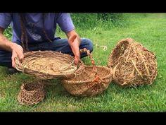 Quels végétaux pour la vannerie sauvage ? - YouTube Aune, Bic Lighter, Deco Nature, Land Art, Diys, Make It Yourself, Homesteading, Baskets, Weaving