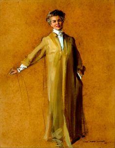 My favorite of Katherine Hepburn by Everett Raymond Kinstler.  It's done on cardboard!