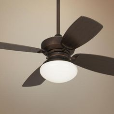 "Barb, the answer to your ""hot"" kitchen. 36"" Outlook Oil-Rubbed Bronze Ceiling Fan -"