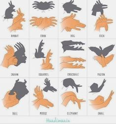 How to do Shadow Art - Do it for your children....or friends children...or any children!