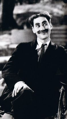 awesome GROUCHO MARX - Known as a master of quick wit and ...   Interesting Faces Check more at http://kinoman.top/pin/14820/