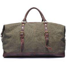49398dedca Waxed Canvas Duffle Bag   Weekend Bag   Duffel Bag Men   Men Duffle Bag    Weekender Bag   Leather Duffle Bag   Mens Duffel Bag   Gym Bag(S19) from  Uni4 Bags