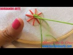Como hacer y decorar funda de almohada*flores bordadas*ESPECIAL DIA DE LA MADRE/sunflower embroidery - YouTube