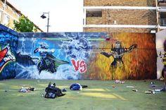 Jeux vidéo street art #05