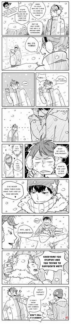 Haikyuu!! KageHina, Oikawa Tooru, Kageyama Tobio, Hinata Shoyo, Winter