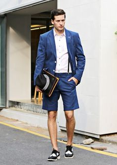 Blue Linen Summer Blazer Jacket, Outers | Men's Fashion ...